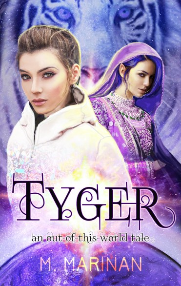 Tyger front cover 8 an out of this world tale