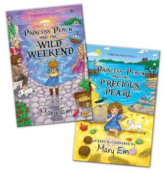 Peach 1-2 book covers