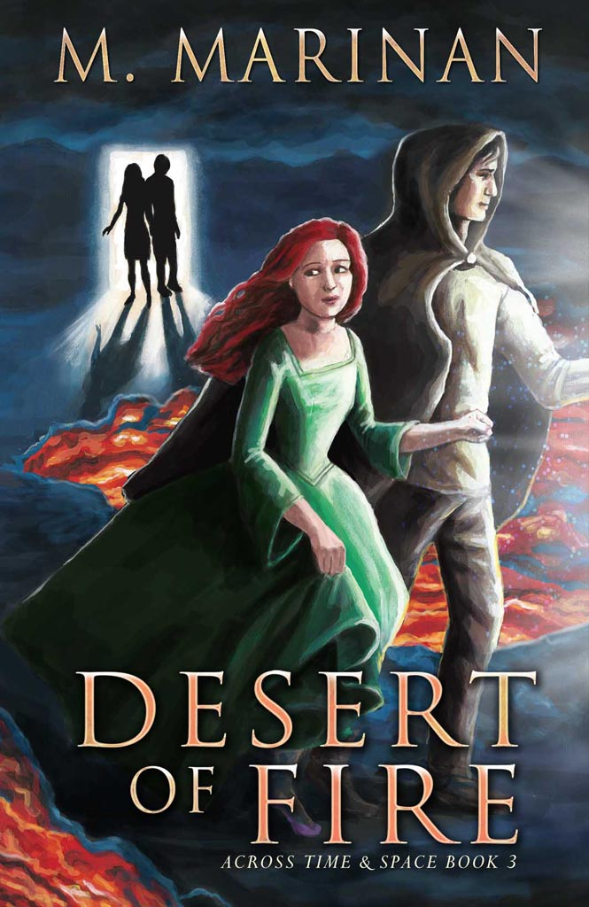 Desert of Fire. Across time and space book 3.