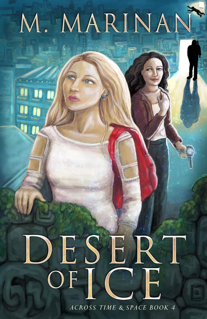 desert of ice. Across time and space book 4