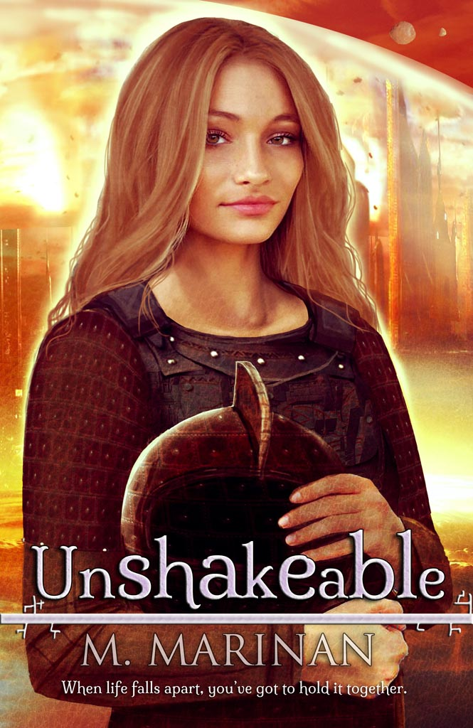 Unshakeable. When life falls apart, you've got to hold it together.